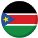 South Sudan Country Flag 25mm Fridge Magnet